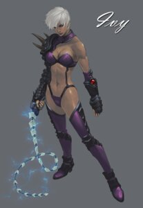 Rating: Questionable Score: 14 Tags: bikini_armor cleavage heels ivy_valentine soul_calibur sword tagme thighhighs weapon User: Yokaiou