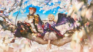 Rating: Safe Score: 14 Tags: armor japanese_clothes onmyouji wallpaper wings User: Mr_GT