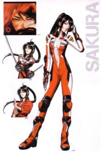 Rating: Safe Score: 18 Tags: beatmania bodysuit open_shirt sakura_(beatmania) sarashi sword User: charunetra