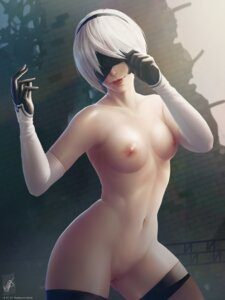 Rating: Explicit Score: 107 Tags: georgy_stacker naked nier_automata nipples pussy thighhighs uncensored watermark yorha_no.2_type_b User: Mr_GT