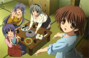 Rating: Safe Score: 26 Tags: clannad clannad_after_story dress fujibayashi_kyou fujibayashi_ryou furukawa_nagisa pantyhose sakagami_tomoyo takahashi_mariko User: acas