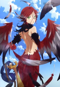 Rating: Questionable Score: 34 Tags: ass illy katou_hiromi monster_girl monster_musume_no_oisha-san topless wings User: drop