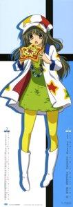 Rating: Safe Score: 19 Tags: calendar clannad ibuki_fuuko ikeda_kazumi pantyhose stick_poster User: Aurelia