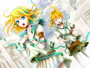 Rating: Safe Score: 13 Tags: kagamine_len kagamine_rin vocaloid wool User: charunetra