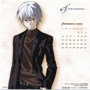 Rating: Safe Score: 6 Tags: calendar ef_~a_fairytale_of_the_two~ ef_~a_tale_of_memories~ himura_yuu male megane screening User: fireattack