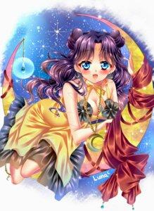 Rating: Safe Score: 18 Tags: cleavage dress luna_(sailor_moon) sailor_moon touki_matsuri User: Mr_GT