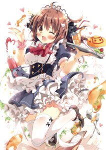 Rating: Safe Score: 65 Tags: maid pan thighhighs waitress User: Twinsenzw