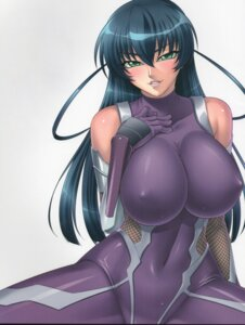 Rating: Questionable Score: 59 Tags: bodysuit erect_nipples fishnets igawa_asagi kagami lilith_soft taimanin_asagi User: limalama
