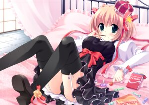 Rating: Questionable Score: 75 Tags: kamikita_komari little_busters! pantsu stockings thighhighs yukie User: blooregardo