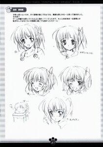 Rating: Safe Score: 4 Tags: character_design kawahara_touka konneko marmalade mikeou monochrome User: noirblack
