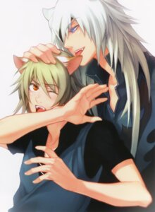 Rating: Questionable Score: 2 Tags: animal_ears kurahana_chinatsu lamento male nitroplus_chiral screening User: Riven