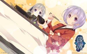 Rating: Safe Score: 14 Tags: effordom_soft kimono mukunoki_shiori senmu wadamori_isuka wallpaper yume_ka_utsutsu_ka_matryoshka User: Anonymous
