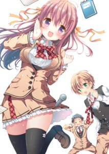 Rating: Safe Score: 52 Tags: high_school_lorelei march-bunny seifuku thighhighs User: Mr_GT