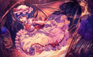 Rating: Safe Score: 24 Tags: milcho remilia_scarlet touhou wings User: Mr_GT