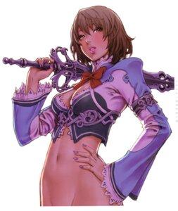 Rating: Safe Score: 29 Tags: cleavage sword yamashita_shunya User: Radioactive