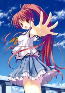 Rating: Safe Score: 33 Tags: abhar deep_blue_sky_&_pure_white_wings miyamae_tomoka nanao_naru seifuku User: crim