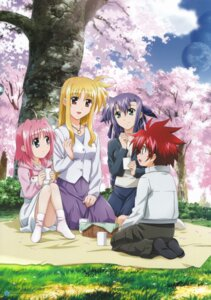 Rating: Safe Score: 10 Tags: caro_ru_lushe erio_mondial fate_testarossa ginga_nakajima mahou_shoujo_lyrical_nanoha mahou_shoujo_lyrical_nanoha_strikers User: daemonaf2