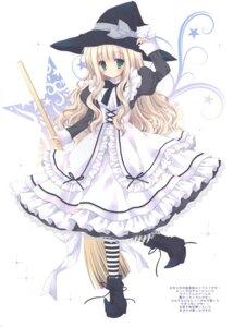 Rating: Questionable Score: 5 Tags: cascade dress hasekura_chiaki heels tagme witch User: Radioactive