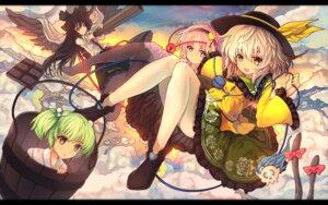 Rating: Safe Score: 18 Tags: eva200499 kisume komeiji_koishi komeiji_satori pantyhose reiuji_utsuho touhou User: fairyren