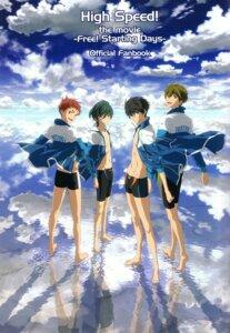 Rating: Safe Score: 8 Tags: free! high_speed! kirishima_ikuya male maruki_nobuaki nanase_haruka shiina_asahi swimsuits tachibana_makoto User: kunkakun