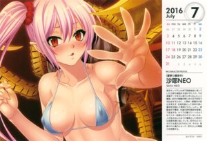 Rating: Questionable Score: 50 Tags: bikini_top calendar cleavage erect_nipples kagami lilith_soft User: eccdbb