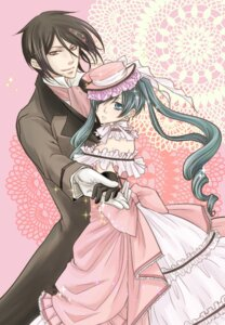 Rating: Safe Score: 7 Tags: ciel_phantomhive dress kuroshitsuji saki_(sakixiv) sebastian_michaelis trap User: charunetra