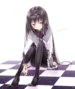 Rating: Safe Score: 33 Tags: akemi_homura heels pantyhose puella_magi_madoka_magica tagme User: Spidey