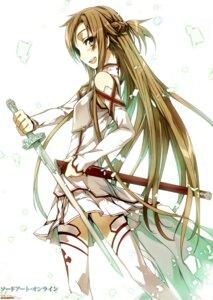 Rating: Safe Score: 41 Tags: abec asuna_(sword_art_online) sword sword_art_online thighhighs User: Radioactive