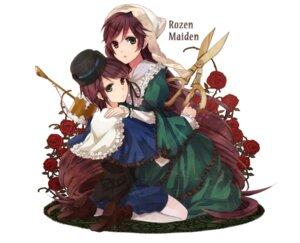 Rating: Safe Score: 14 Tags: dress heterochromia rozen_maiden souseiseki suiseiseki toryufu User: charunetra