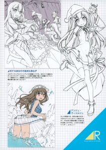 Rating: Safe Score: 10 Tags: 5_nenme_no_houkago ange_vierge ass christmas dress heels kantoku koi_suru_kanojo_no_bukiyou_na_butai nopan see_through seifuku sketch skirt_lift tagme thighhighs wet wet_clothes User: Hatsukoi