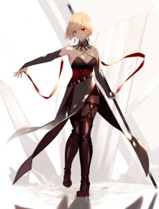 Rating: Safe Score: 59 Tags: cleavage heels kisui pantyhose thighhighs weapon User: Mr_GT