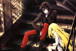 Rating: Safe Score: 21 Tags: isaac_foster itou_youko rachel_gardner satsuriku_no_tenshi User: drop