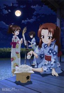 Rating: Safe Score: 25 Tags: girls_und_panzer kadotani_anzu kawashima_momo koyama_yuzu megane wang_guo_nian yukata User: drop