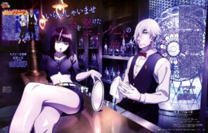 Rating: Safe Score: 12 Tags: death_parade dequim ginti kurokami_no_onna liang_boya nona_(death_parade) User: drop