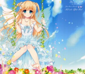 Rating: Safe Score: 50 Tags: ame_nochi_yuki ame_to_yuki cleavage crease dress feet summer_dress User: Radioactive
