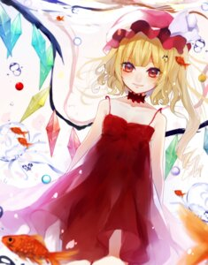 Rating: Safe Score: 20 Tags: cleavage daimaou_ruaeru dress flandre_scarlet touhou wings User: charunetra