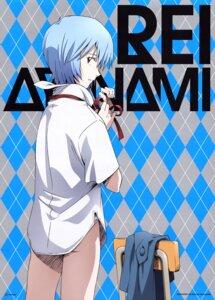 Rating: Safe Score: 16 Tags: ayanami_rei dress_shirt neon_genesis_evangelion pantsu tsurumaki_kazuya User: Aurelia