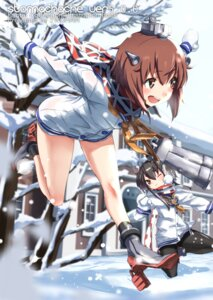 Rating: Safe Score: 53 Tags: heels kantai_collection pantyhose seifuku tokitsukaze_(kancolle) tsuuhan yukikaze_(kancolle) User: Mr_GT