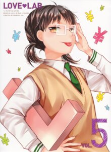 Rating: Safe Score: 10 Tags: love_lab megane miyahara_ruri mizushima_sayori seifuku User: Radioactive