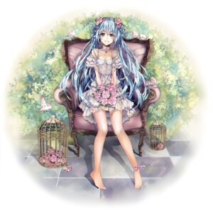 Rating: Safe Score: 65 Tags: cleavage dress hatsune_miku see_through teka vocaloid User: Mr_GT