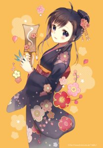 Rating: Safe Score: 35 Tags: kimono takeda_mika User: fairyren