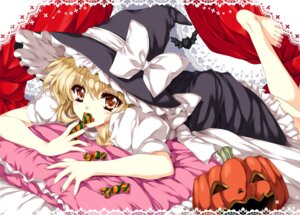 Rating: Safe Score: 16 Tags: feet halloween kirisame_marisa lolita_fashion tamiya_akito touhou witch User: blooregardo
