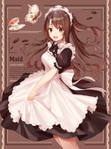 Rating: Safe Score: 30 Tags: maid munseonghwa shimamura_uzuki the_idolm@ster the_idolm@ster_cinderella_girls User: mash