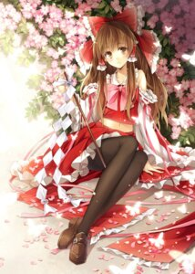 Rating: Safe Score: 71 Tags: hagiwara_rin hakurei_reimu pantyhose touhou User: 椎名深夏