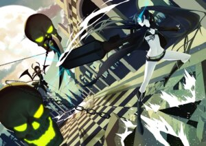 Rating: Safe Score: 13 Tags: bikini_top black_rock_shooter black_rock_shooter_(character) dead_master kuroi_mato rozer takanashi_yomi vocaloid User: kayex