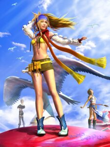 Rating: Safe Score: 25 Tags: bikini_top cg final_fantasy final_fantasy_x final_fantasy_x-2 heterochromia paine rikku square_enix yuna User: Radioactive