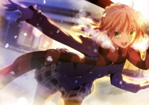 Rating: Safe Score: 162 Tags: fate/stay_night saber takeuchi_takashi thighhighs type-moon User: drop