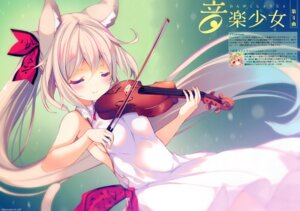 Rating: Questionable Score: 33 Tags: animal_ears dress kitsune p19 User: 100497