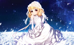 Rating: Safe Score: 28 Tags: dress futaba_anzu rheez the_idolm@ster the_idolm@ster_cinderella_girls wedding_dress User: Mr_GT