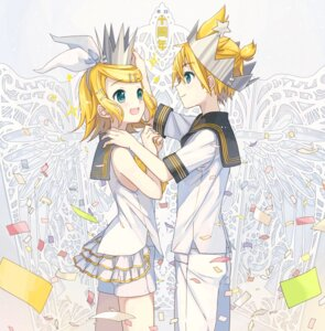 Rating: Safe Score: 16 Tags: ixima kagamine_len kagamine_rin vocaloid User: Mr_GT